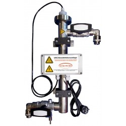 UVC Disinfection In-Line 1m³/h