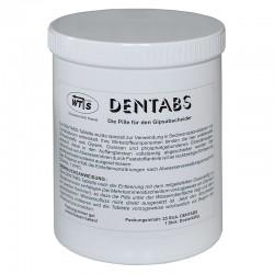 DENTABS Standardpackung: 25 St. + Dosierkörbchen